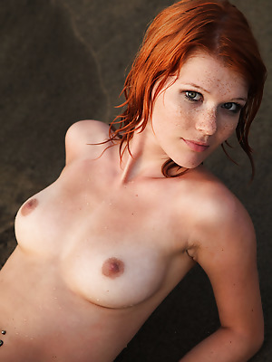 Errotica-Archives  Mia Sollis  Red Heads, Erotic, Softcore, Beach
